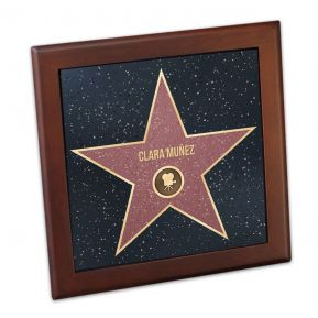 Salvamanteles personalizado Walk of fame