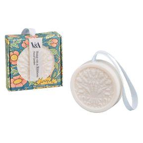 Jabón colgando de una cinta V&A