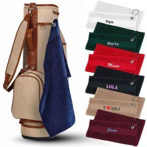 Toalla de golf personalizada