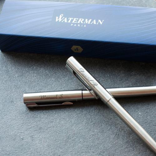 Cofre Waterman duo personalizado