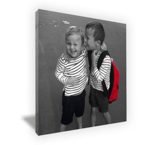 Foto Color Pop Effect sobre lienzo