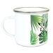 Taza esmaltada personalizada palmeras y flechas