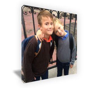Foto sobre lienzo en formato cuadrado