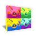 Lienzo Pop Art rectangular