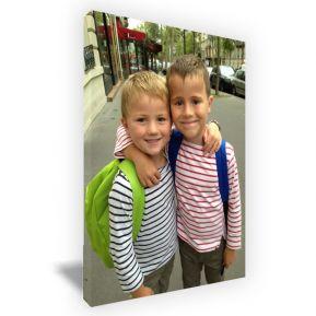 Foto sobre lienzo rectangular