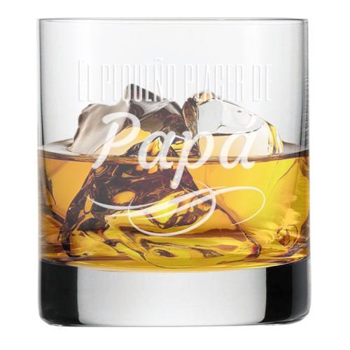 Vaso de whisky personalizado de papá