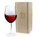 Copa de vino grabada Inicial