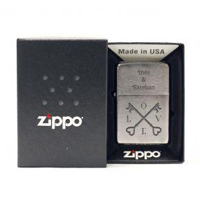 Encendedor Zippo mi amor personalizado