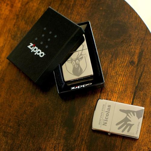 Encendedor Zippo personalizado con un nombre