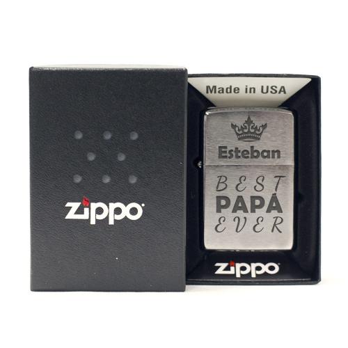 Encendedor Zippo personalizado día del padre