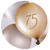 Regalo de cumpleaños para hombre de 75 años