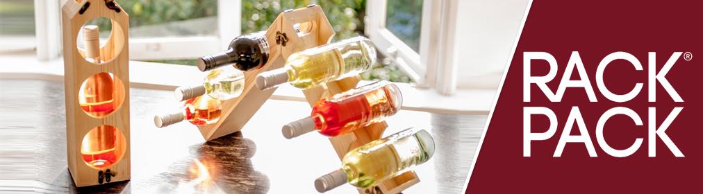 RackPack® - Cajas de vino convertibles