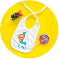 Accesorios en textil personalizados para bebé
