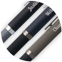 Bolígrafos personalizados con un nombre