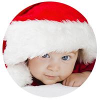 Regalos de Navidad y Reyes personalizados para un bebé