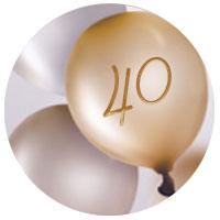 Ideas de regalos de cumpleaños para 40 años