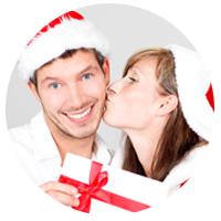 Regalos de Navidad y Reyes personalizados para una pareja