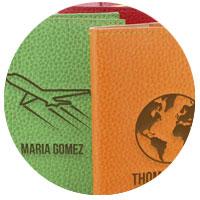 Marroquinería personalizada con diseños