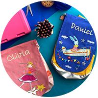 Mochilas, estuches y bolsas personalizadas