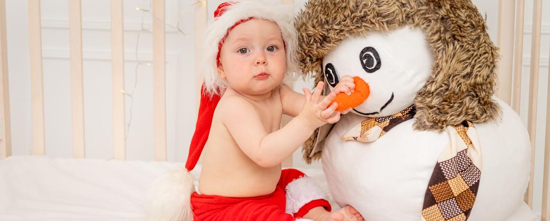 Regalo de Navidad para bebé