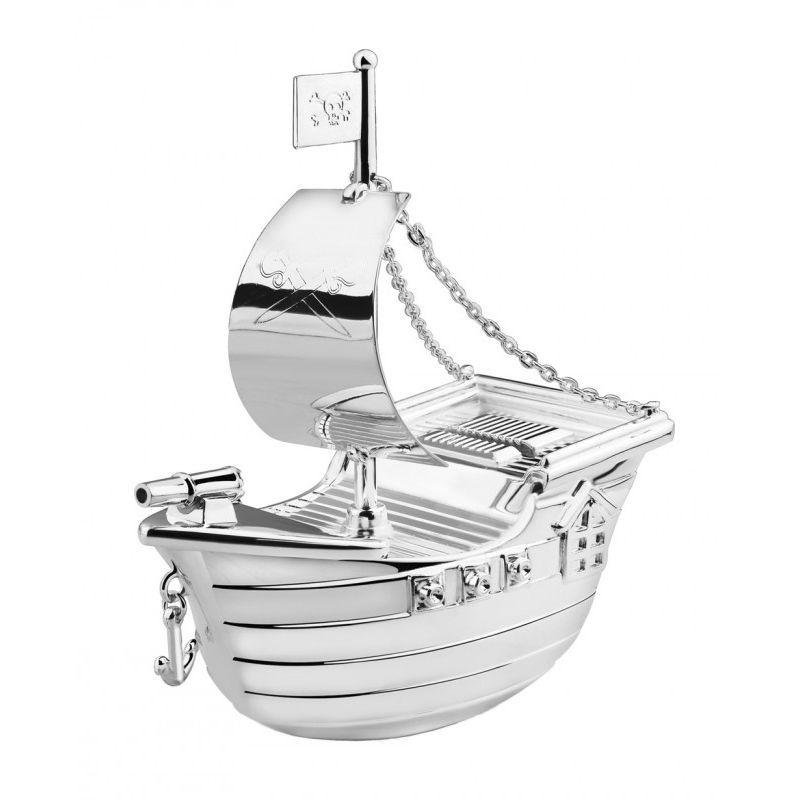 Alcancía barco pirata